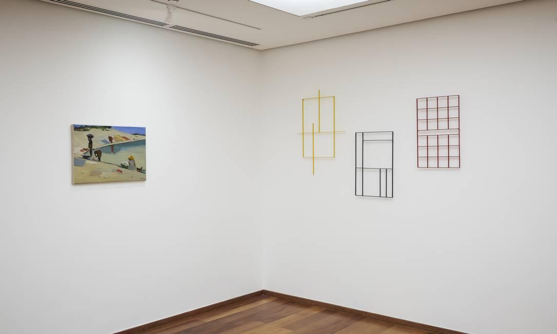 Sala Antonio Manuel na mostra 'A escolha do artista na Coleção Roberto Marinho' Foto: Cadu Pilotto/Divulgação