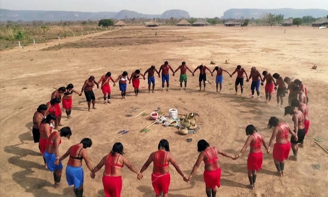 Entre as etnias indígenas, povo Xavante tem maior número de mortes Foto: (Reprodução/TV GLOBO)
