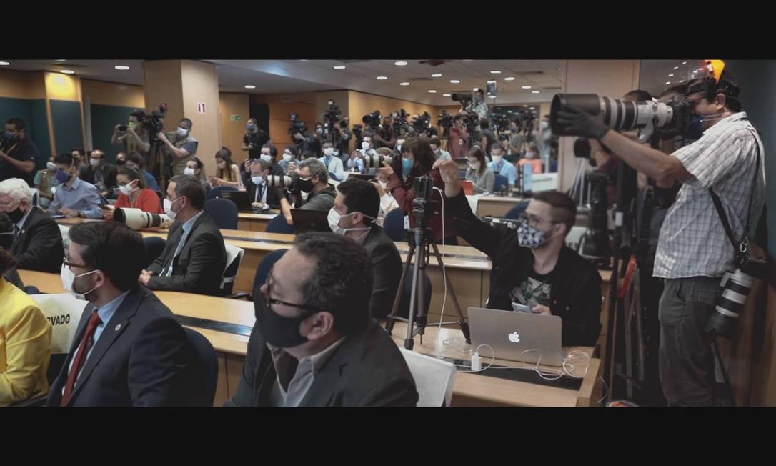 """""""Cercados"""": documentário mostra bastidores da imprensa brasileira na cobertura da pandemia Foto: Divulgação"""