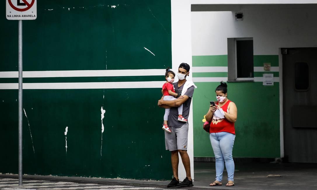 Com o aumento de casos de Coronavírus entre crianças, jovens e adolescentes, a mortalidade dessa faixa etária teve elevação em todos os estados do pais. Foto: Fotoarena / Agência O Globo