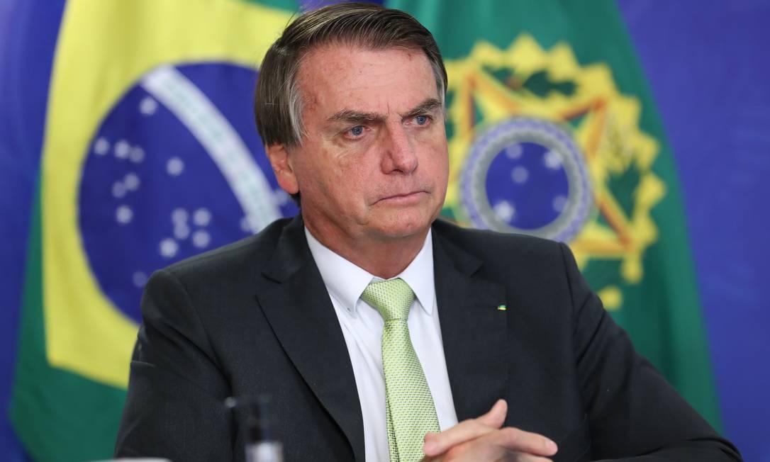 O presidente Jair Bolsonaro Foto: Marcos Corrêa/PR / Marcos Corrêa/PR
