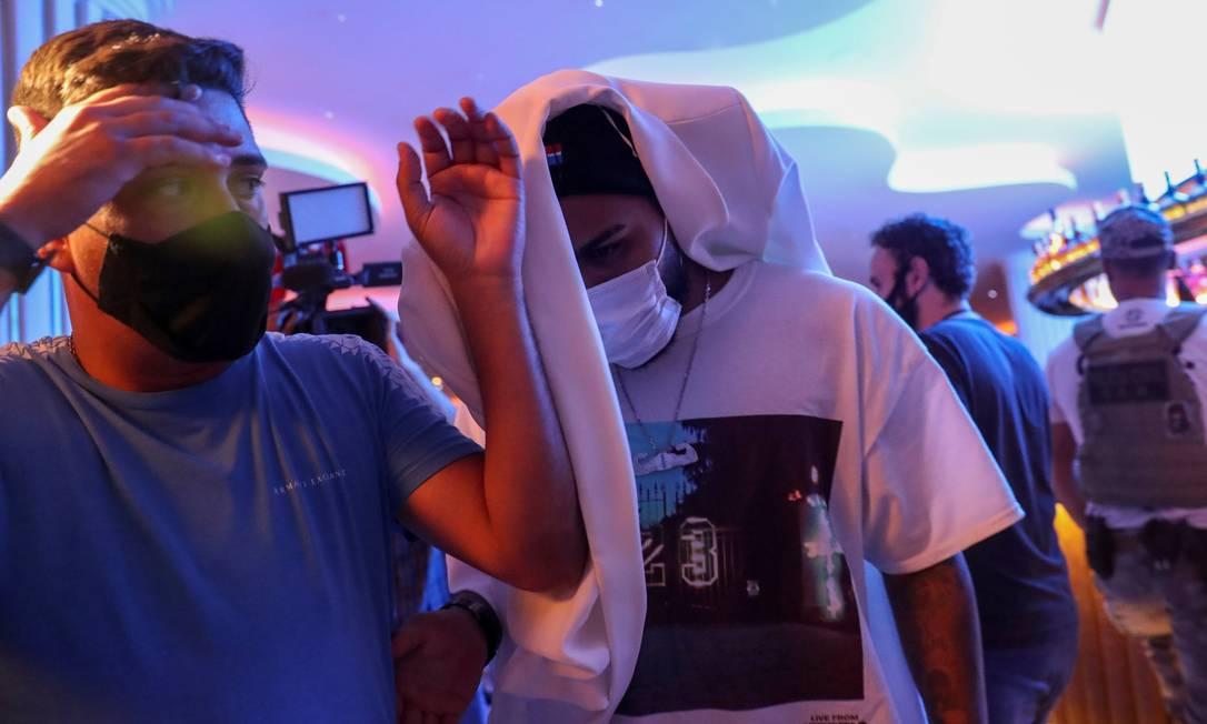 Gabigol foi flagrado em cassino clandestino durante operação da polícia Foto: AMANDA PEROBELLI / REUTERS