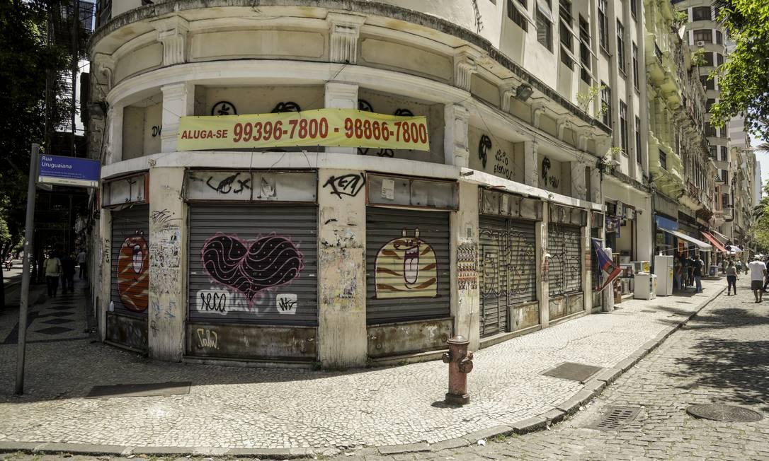 Recrudescimento da pandemia e fim do auxílio impactaram no resultado do varejo Foto: Gabriel de Paiva / Agência O Globo