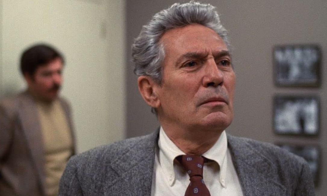 """Peter Finch, 1977: o ator é outro caso de vencedor póstumo, levando o prêmio de melhor ator por """"Rede de Intrigas"""". Foto: Reprodução"""