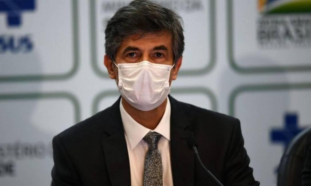 Teich afirma ter deixado o cargo por não ter autonomia para implementar políticas públicas que acreditava Foto: AFP
