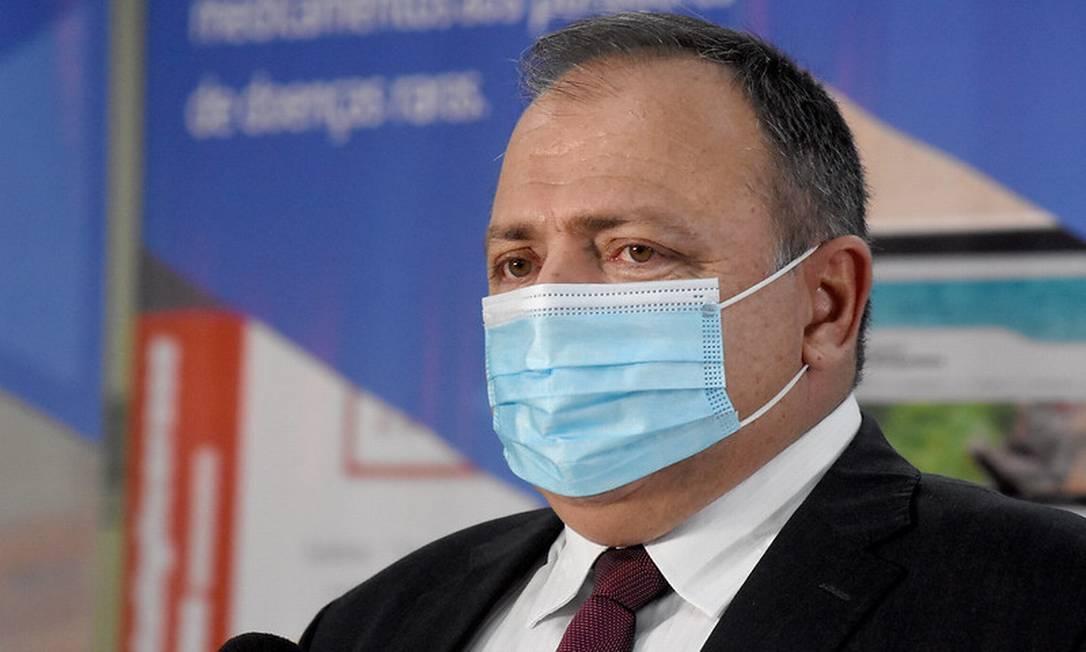 O ministro da Saúde, Eduardo Pazuello 06/02/2021 Foto: TonyWinston / Divulgação