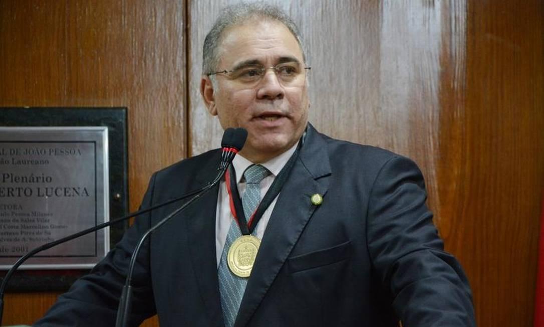 Marcelo Queiroga, que substituirá general Eduardo Pazuello no Ministério da Saúde Foto: Divulgação/Câmara Municipal de João Pessoa