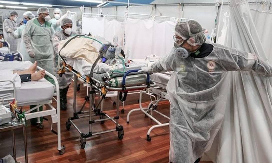Essa é a pior crise sanitária que o país viveu em toda a sua história, acredita Chapchap Foto: Getty Images