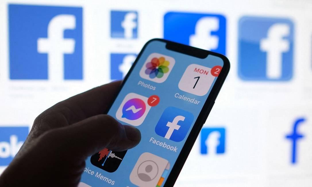 Facebook: parceria com News Corp na Austrália chega após queda de braço com o governo do país Foto: CHRIS DELMAS / AFP