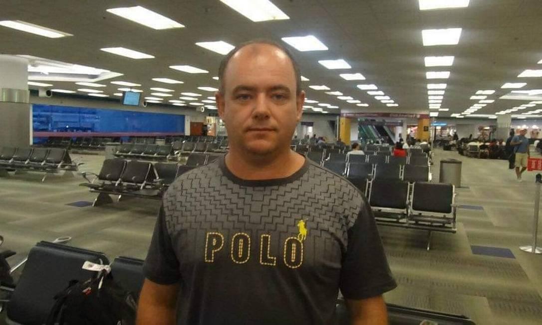 Foto: Silvio Krammers, ajudante de ordens de Bolsonaro, morreu de Covid-19 / Reprodução/Redes sociais
