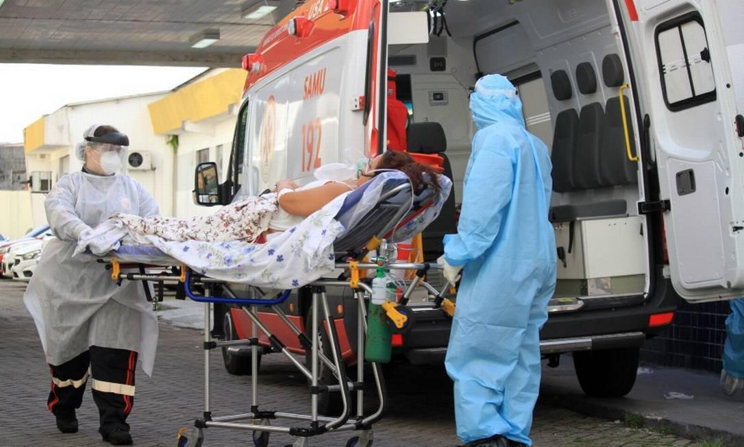 O Pará é um dos estados onde a saúde está a beira do colapso Foto: Sidney Oliveira/Zimel Press / Agência O Globo