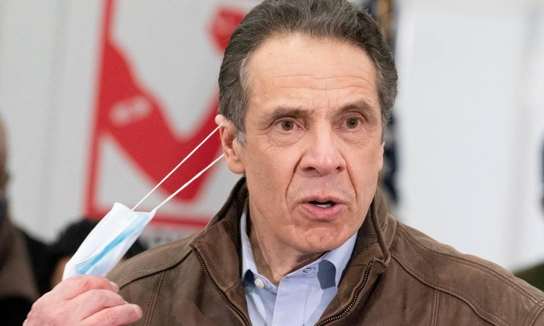 O governador do estado de Nova York, Andrew Cuomo Foto: POOL / REUTERS