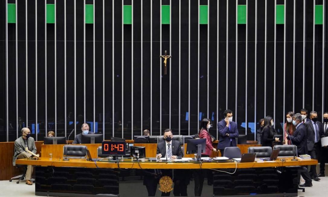 Sessão deliberativa do Congresso Nacional Foto: Pablo Valadares/Câmara dos Deputados