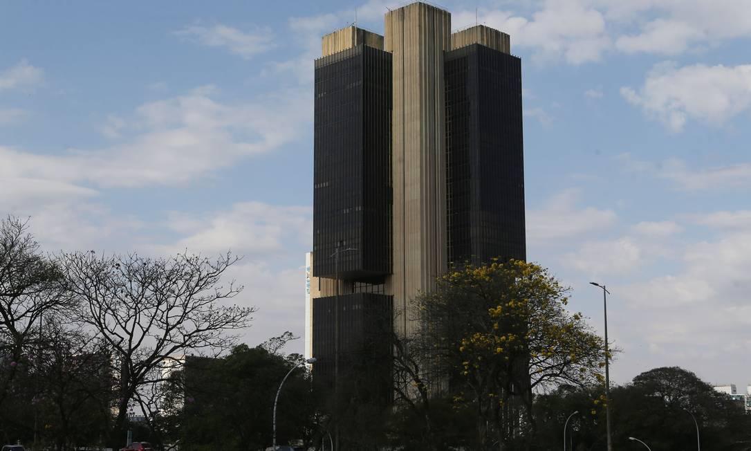 Sede do Banco Central em Brasília Foto: Jorge William / Agência O Globo