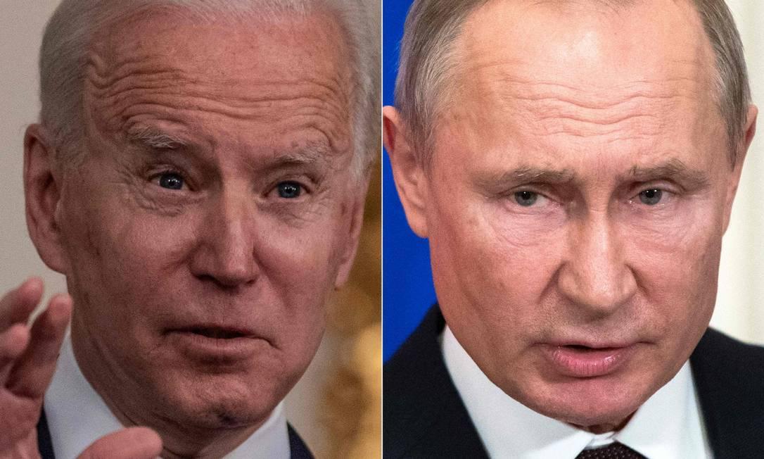 Putin deseja saúde a Biden após presidente americano chamá-lo de assassino - Jornal O Globo