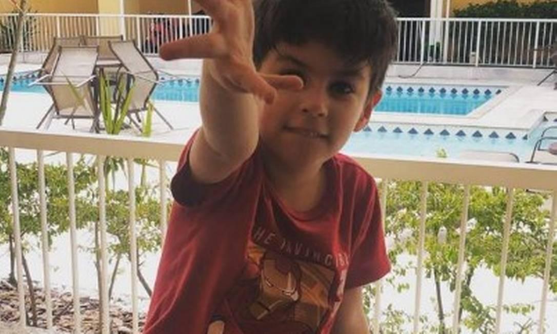 Enteado do vereador Dr. Jairinho, Henry Borel Medeiros morreu aos 4 anos Foto: Reprodução