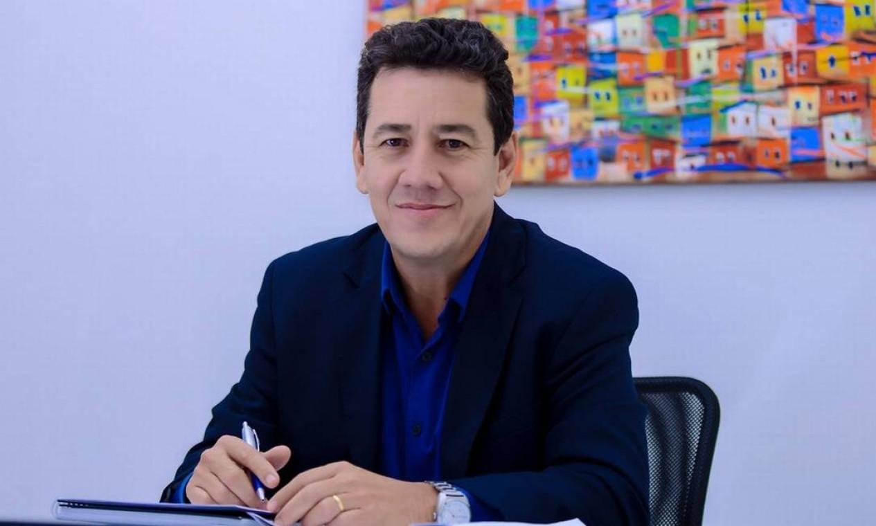 O vice-prefeito de Uberada (MG), João Gilberto Ripposati, morreu em setembro, aos 59 anos, depois de 14 dias internado, lutando contra a doença Foto: Divulgação