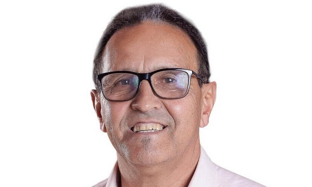 Vice-prefeito eleito de Jacinto Machado, no Sul de Santa Catarina, José Francisco de Aguiar (PSL), o Zezinho, morreu aos 63 anos, em dezembro, também vítima da Covid. Ele não apresentava comorbidades, segundo a prefeitura da cidade Foto: Divulgação