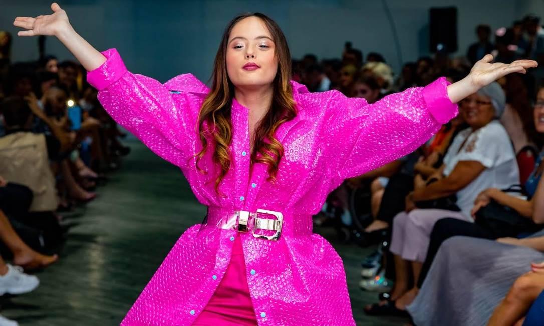 Maju na Osasco Fashion Week Foto: Divulgação/André Sampaio