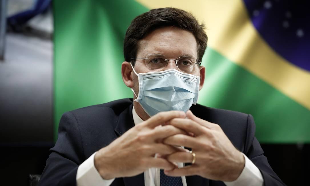 O ministro da Cidadania, João Roma, em entrevista ao GLOBO Foto: Pablo Jacob / Agência O Globo
