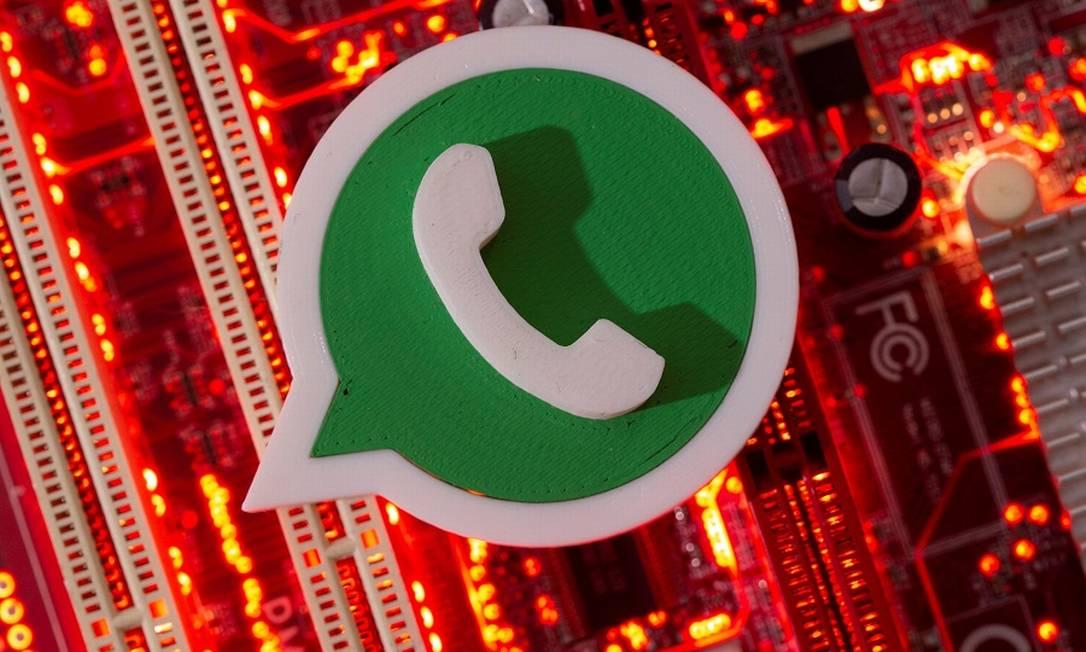 WhatsApp; golpes de engenharia social para clonagem aumentam Foto: Dado Ruvic / REUTERS