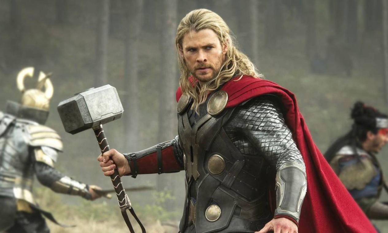'Thor: O mundo Sombrio' (2013): A namorada de Thor, Jane Foster, é contaminada por uma força interdimensional comandada pelo elfo negro Malekith. A Joia da Realidade aparece pela primeira vez. Foto: Reprodução