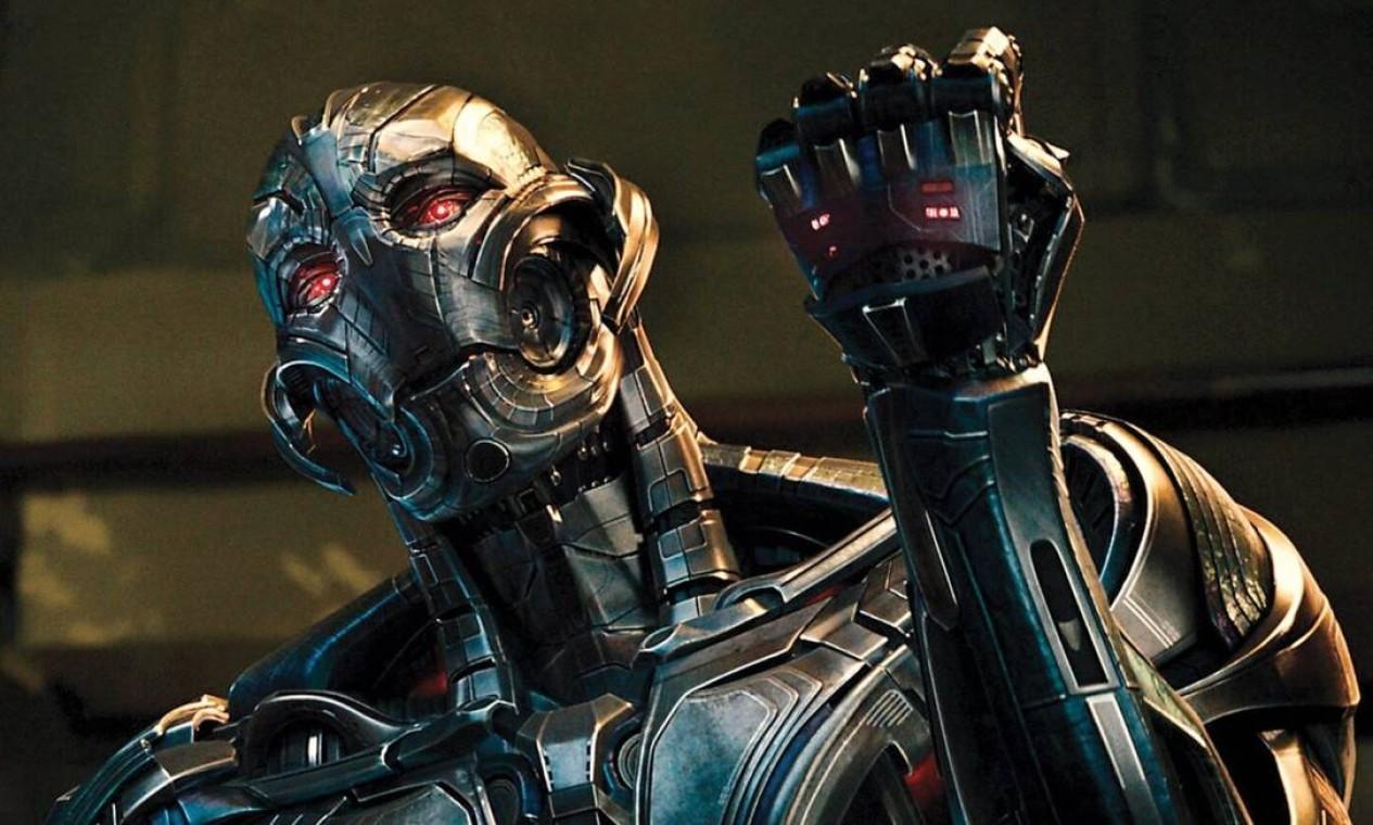 'Vingadores: Era de Ultron' (2013): Quando Tony Stark e Bruce Banner tentam iniciar um programa chamado Ultron, as coisas dão terrivelmente errado e cabe aos Vingadores impedir o vilão de executar seu terrível plano. Wanda Maximoff é apresentada. Foto: Reprodução