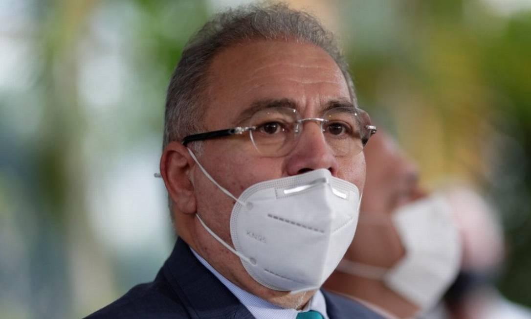 O novo ministro da Saúde, Marcelo Queiroga Foto: Ueslei Marcelino/Reuters