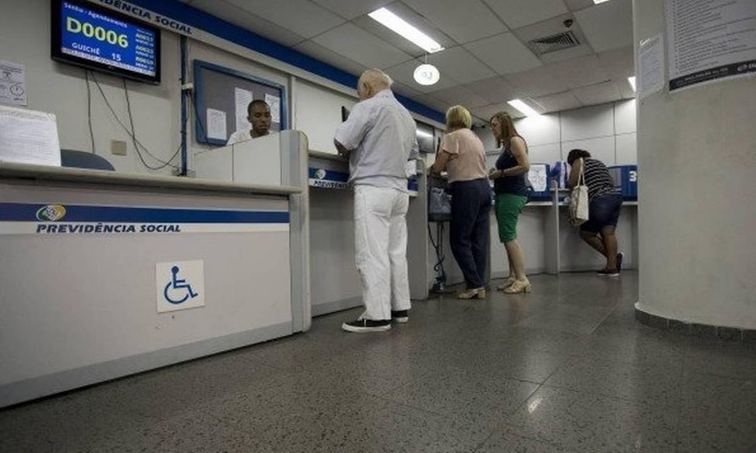Agência do INSS Foto: Márcia Foletto/Agência O Globo