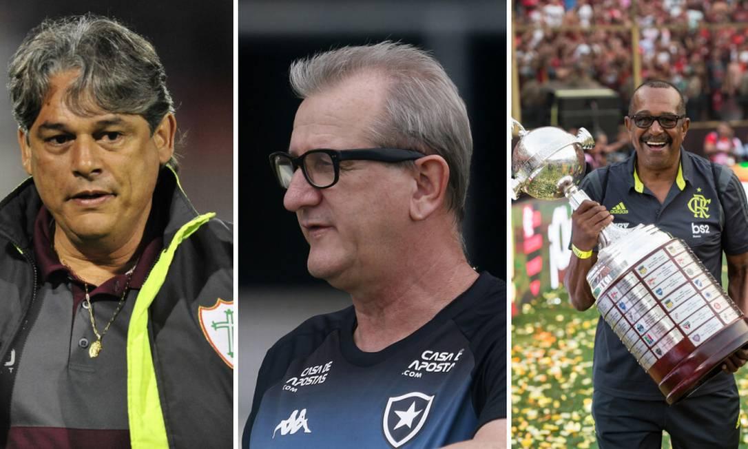 Marcelo Veiga, Renê Weber e Jorginho foram algumas das vítimas da Covid-19 Foto: Montagem sobre fotos