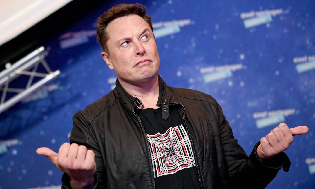 Musk tenta convencer China de que carros da Tesla são à prova de espionagem Foto: BRITTA PEDERSEN / AFP
