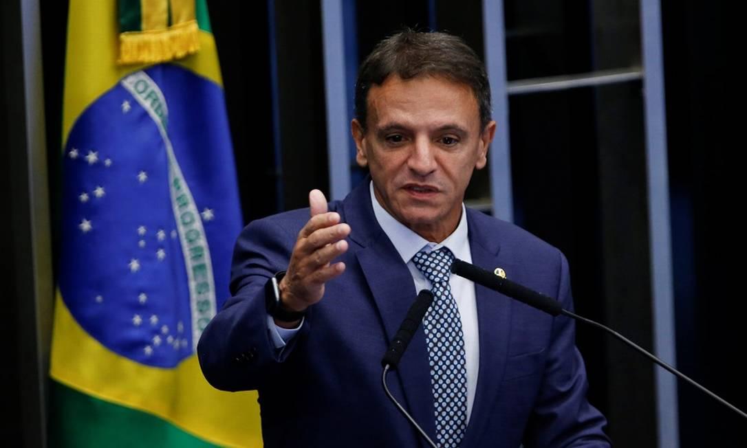 O senador Márcio Bittar, relator do Orçamento de 2021 Foto: Adriano Machado / Reuters