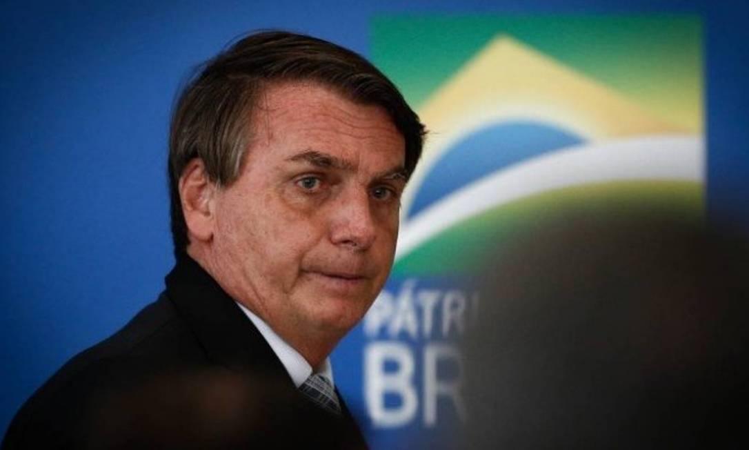 Bolsonaro fala sobre vacinas: 'Dentro da disponibilidade do mundo somos algo excepcional' Foto: Pablo Jacob