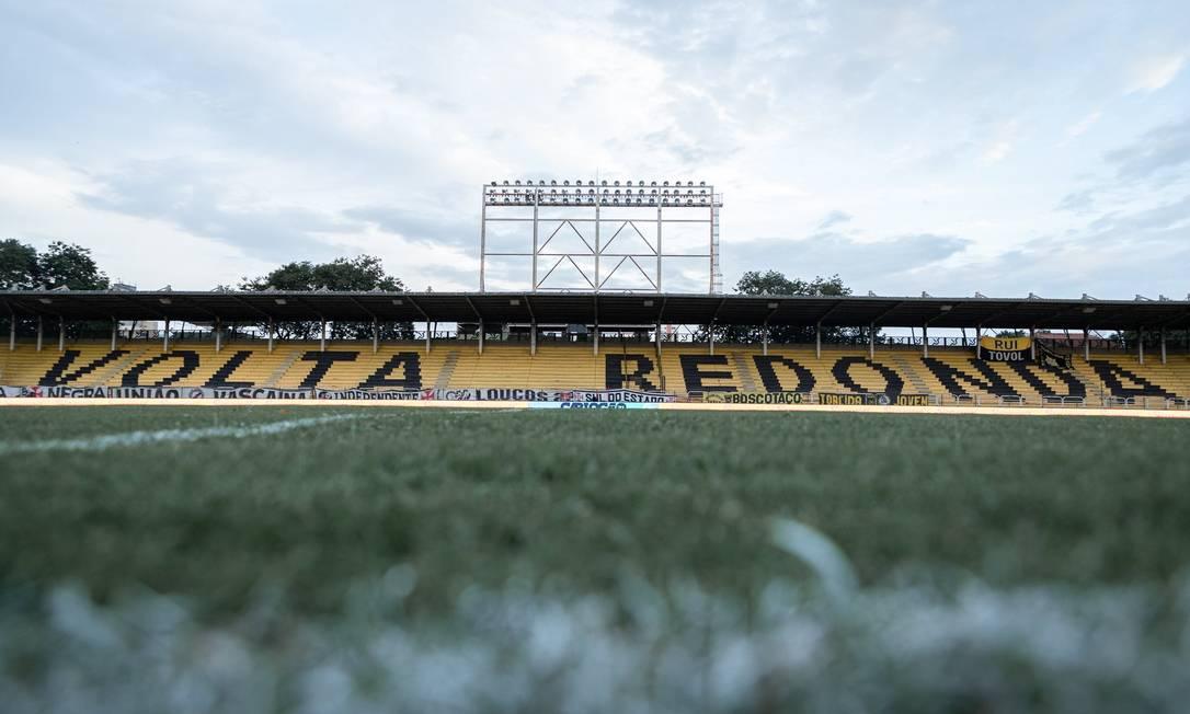 O Estádio Raulino de Oliveira receberá o jogo entre Corinthians e Retrô, segundo CBF Foto: Caíque Coufal / VRFC