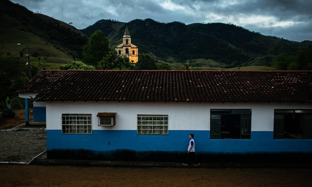Escola Creche Municipal João Rodrigues França, em Bom Jesus do Queremos, Natividade, no Rio Foto: Hermes de Paula / Agência O Globo