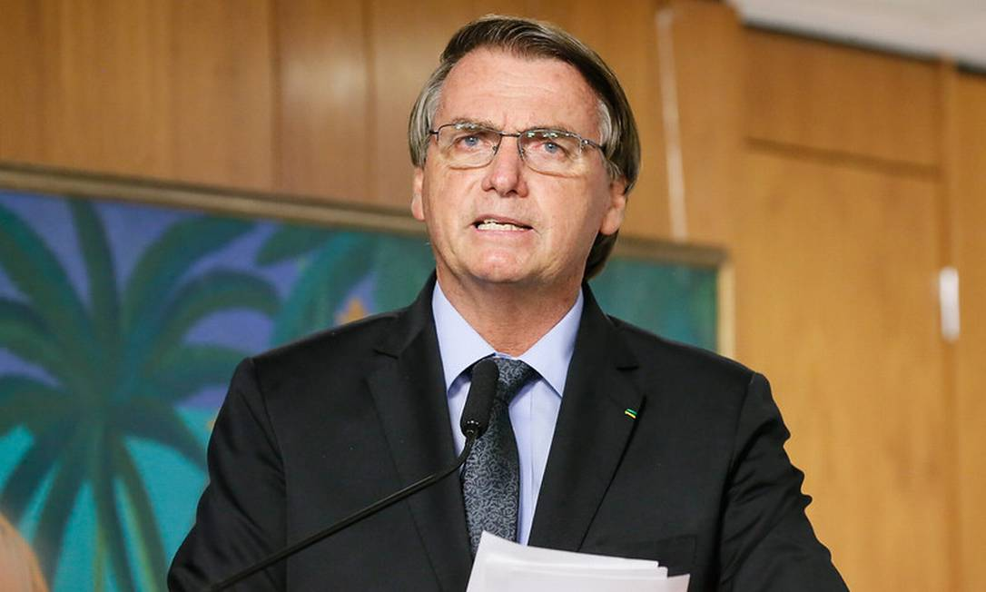 O presidente Jair Bolsonaro 22/03/2021 Foto: ISAC NOBREGA/ divulgação