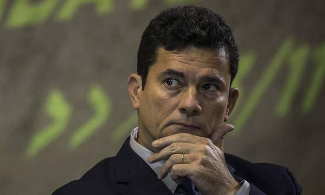 Sergio Moro, ex-juiz da Lava Jato e ex-ministro da Justiça no governo Bolsonaro Foto: Guito Moreto/Agência O Globo