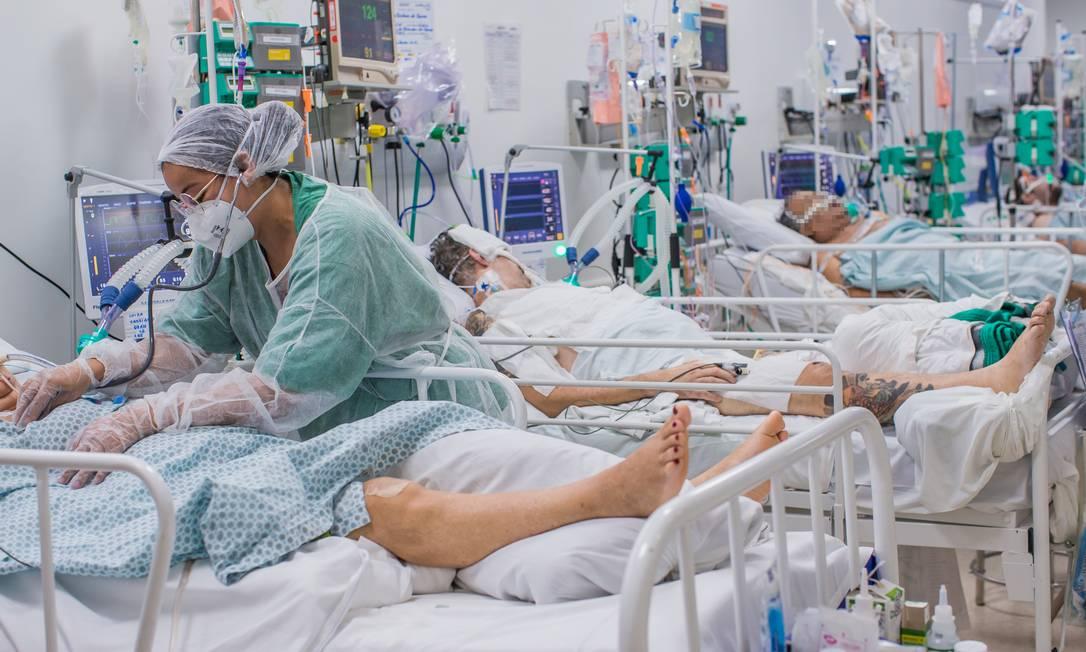 Três estados não têm mais vaga de UTI para Covid-19, e 14 registram mais de  90% de ocupação nos hospitais - Jornal O Globo
