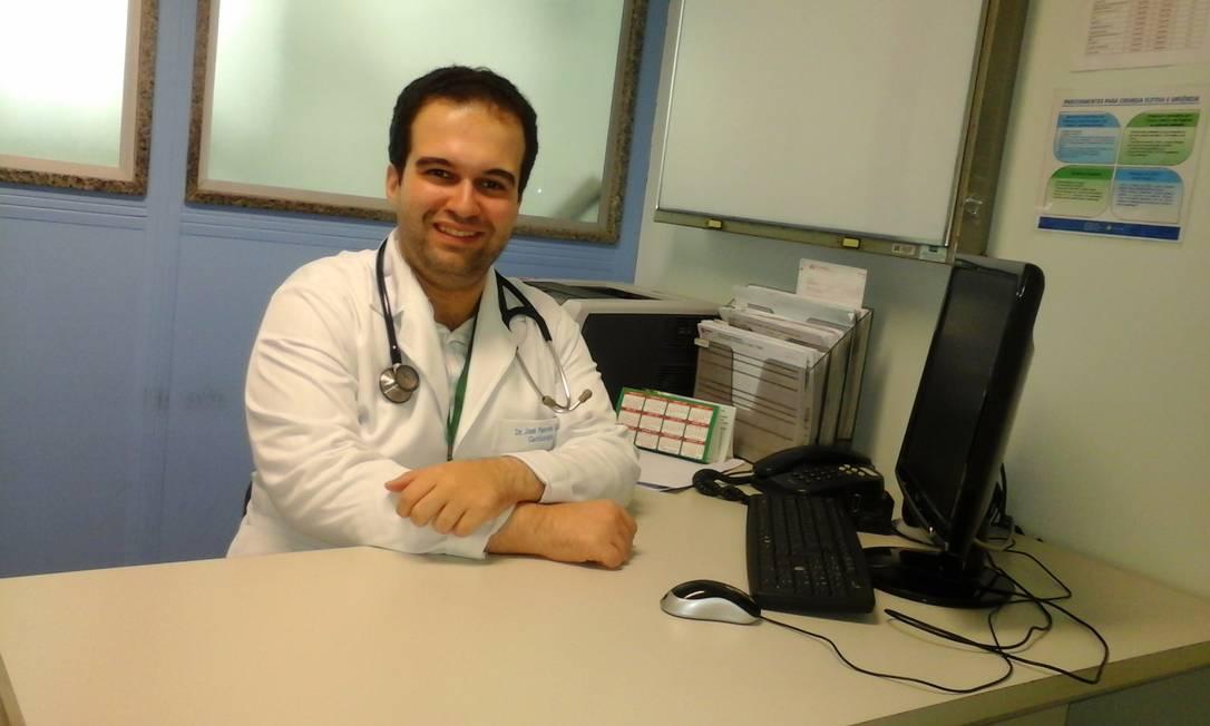 José Perrota Filho é médico cardiologista Foto: Divulgação/Hospital São Vicente de Paulo