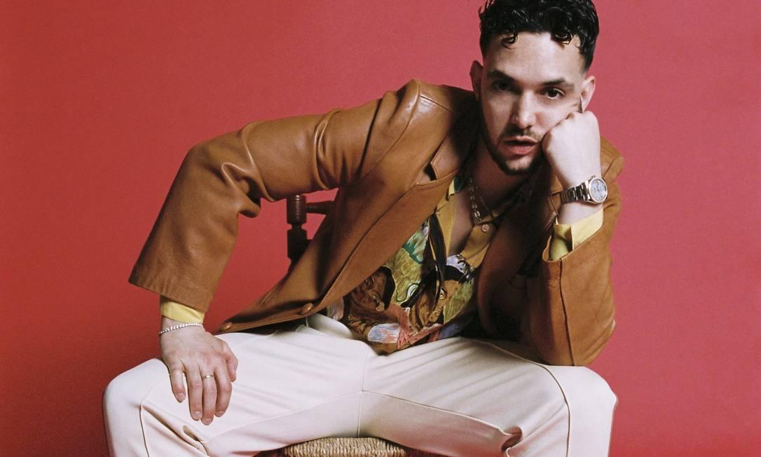 O rapper espanhol C Tangana Foto: Javier Ruiz / Divulgação