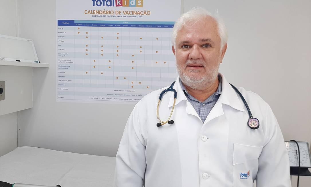 """O pediatra Antonio Carlos Turner identifica aumento de doenças de """"adultos"""" em crianças e adolescentes Foto: Divulgação/Total Kids"""