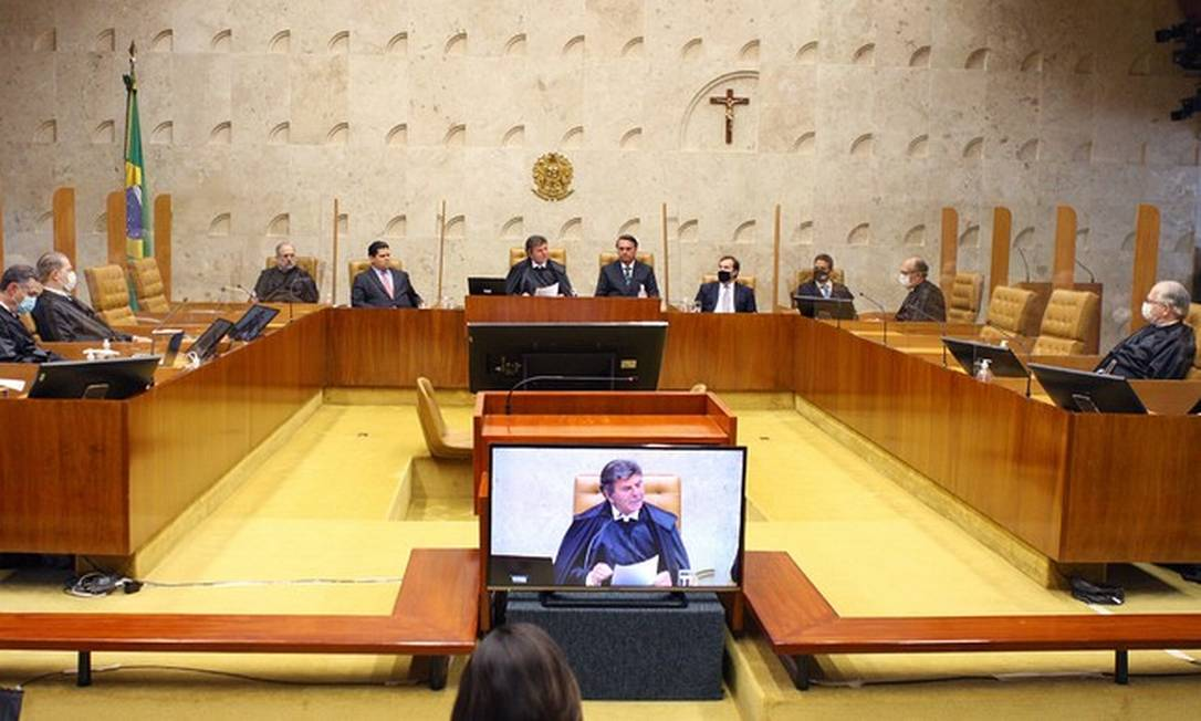 O plenário do Supremo Tribunal Federal Foto: Divulgação/STF