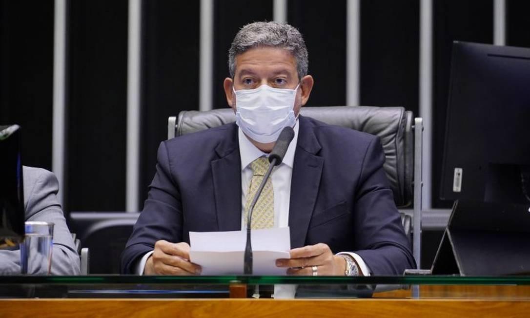 O presidente da Câmara, Arthur Lira (PP-AL) Foto: Agência Câmara