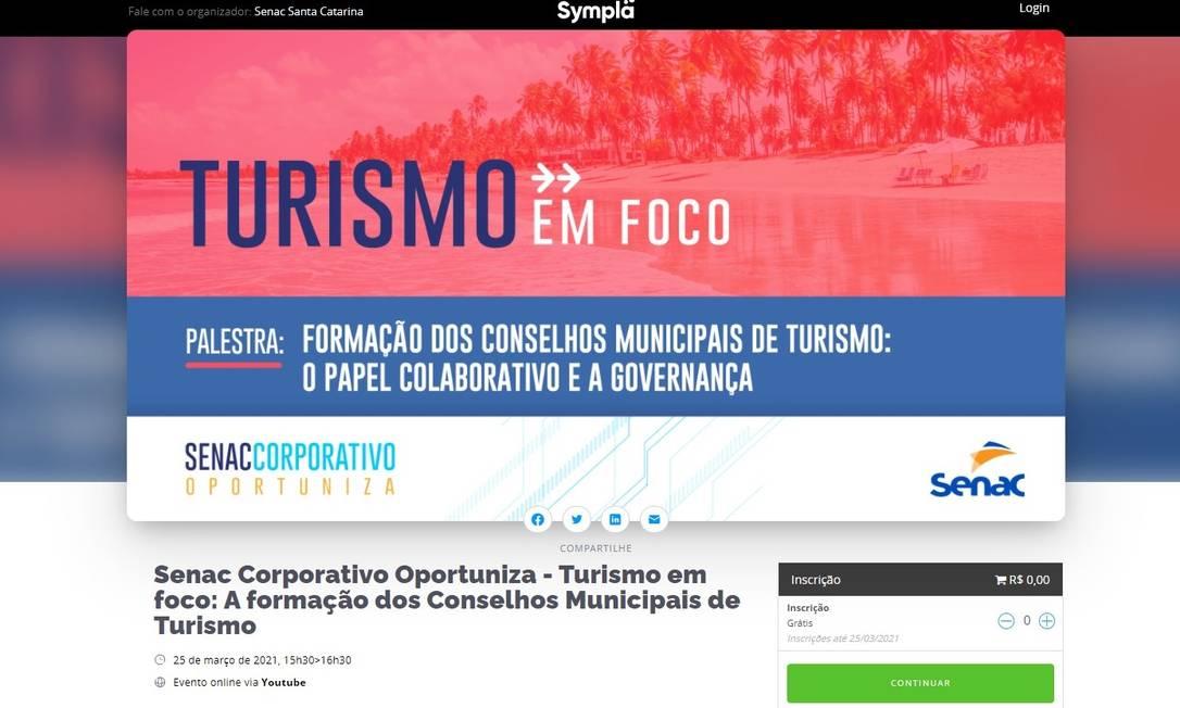 O Senac Corporativo Oportuniza é um projeto que reúne workshops e eventos on-line com foco na atualização de conhecimentos de profissionais e empresas. Foto: Divulgação