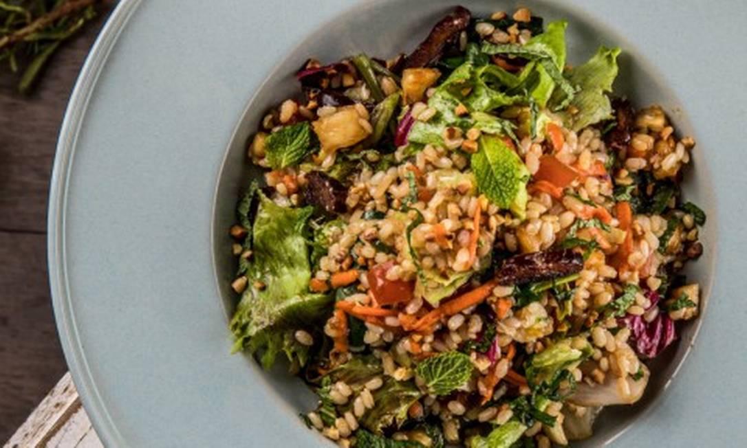 No Gula Gula, o arroz oriental é feito com o Arroz de Altitude, cultivado a 700 metros acima do nível do mar Foto: Tomás Rangel