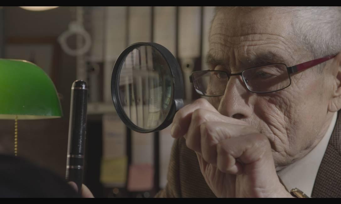 """O ator Sergio Chamy no filme """"Agente duplo"""", de Maite Alberdi: indicado ao Oscar de Melhor Documentário Foto: Divulgação"""
