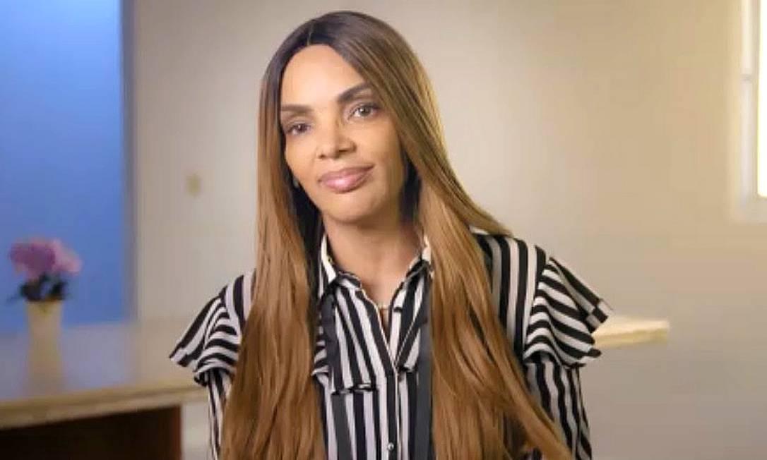 Flordelis em entrevista ao 'Conversa com Bial' Foto: Reprodução / TV Globo
