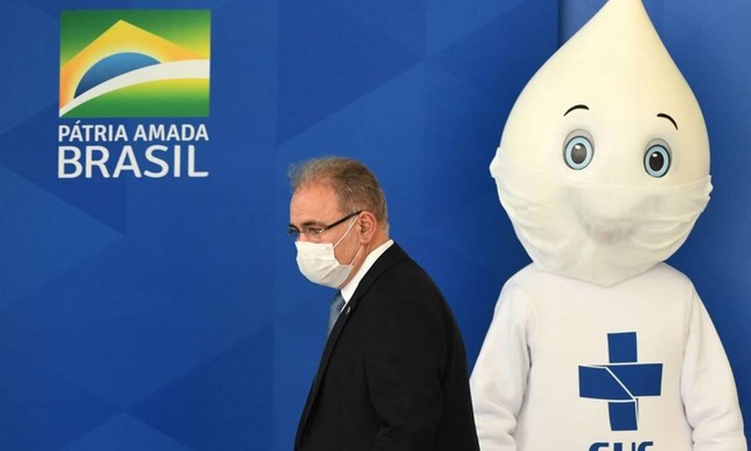 Marcelo Queiroga, ministro da Saúde Foto: AFP