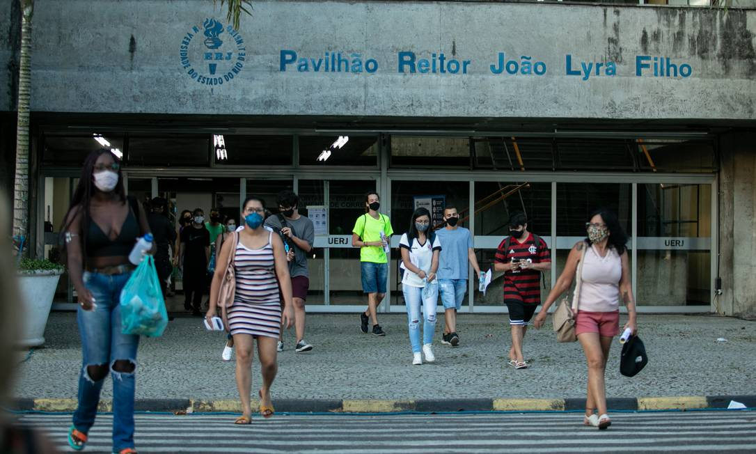Prova do Enem teve recorde de abstenção Foto: Brenno Carvalho / Agência O Globo