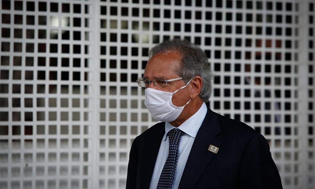 Para especialistas, mesmo com parte da agenda parada, presença de Guedes impediu piora do quadro fiscal Foto: Pablo Jacob / Agência O Globo